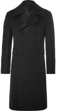Prada Slim-Fit Double-Breasted Wool Coat