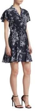 Cinq à Sept Quincy Floral Wrap Dress