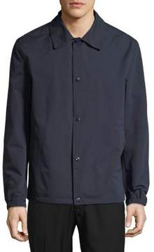 Cole Haan Spread Collar Rain Jacket