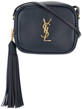 Saint Laurent 'Monogram Blogger' crossbody bag - BLUE - STYLE