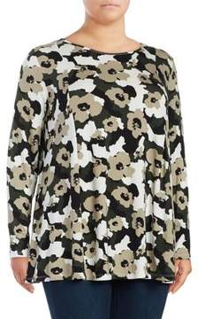 Context Plus Printed Knit Top