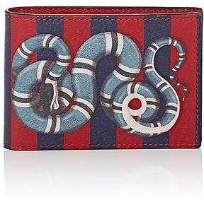 Gucci Men's Kingsnake Slim Billfold