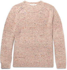 Marc Jacobs Olympia Mélange Virgin Wool And Cashmere-Blend Sweater