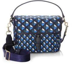 Tory Burch Scout Printed Nylon Crossbody Bag