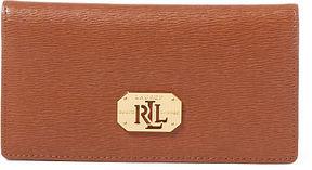 Ralph Lauren Lauren Saffiano Newbury Wallet