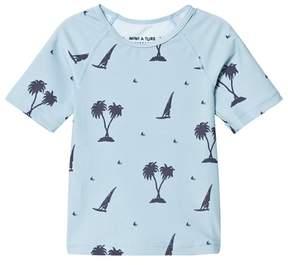 Mini A Ture Gun T-shirt, K Blue Fog