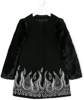 John Richmond Kids paisley coat