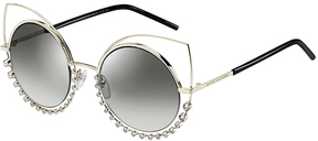 Safilo USA Marc Jacobs 16/S Metal Cat Eye Sunglasses