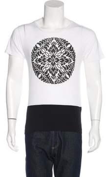 Dries Van Noten Printed Scoop Neck T-Shirt w/ Tags