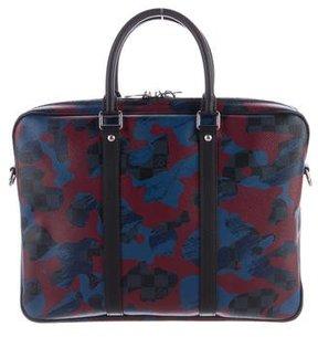 Louis Vuitton Damier Camo Porte Documents Voyage PM