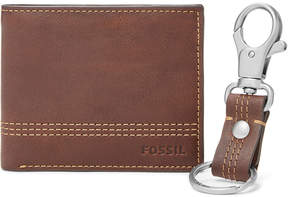Fossil Kyle RFID Traveler and Keyfob Gift Set