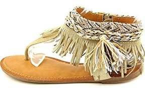 Zigi Francesca Open Toe Leather Thong Sandal.