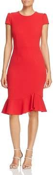 Betsey Johnson Scuba Crepe Midi Dress
