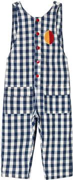 Bobo Choses Turkish Sea Vichy Baggy Jumpsuit