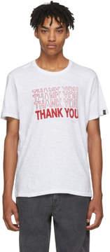 Rag & Bone White Thank You T-Shirt