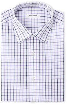 Pierre Cardin Plaid Dress Shirt
