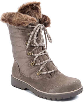 Bare Traps Women's Satin Boot