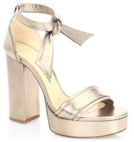 Alexandre Birman Celine Platform Sandals