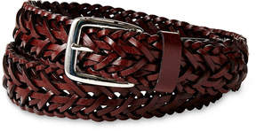 Izod Brown Braided Belt - Boys 8-20