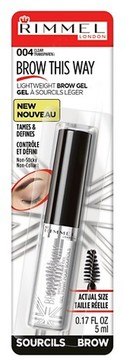 Rimmel Brow This Way - Clear
