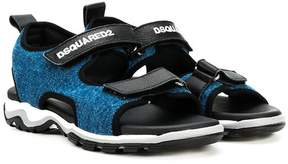 DSQUARED2 TEEN denim sandals