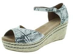 Toms Women's Platform Wedge Sandal.