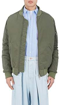 Martine Rose Men's MA-1 Tech-Taffeta Oversized Bomber Jacket
