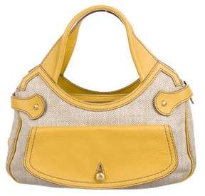 Tod's Leather Trimmed Handle Bag