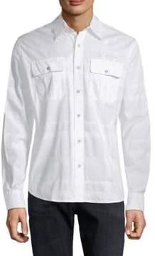 Affliction Rival Element Cotton Shirt