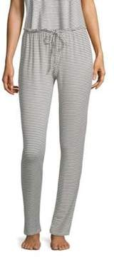 Eberjey Sadie Slim Striped Pants