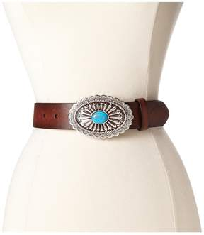 Ariat Oval Concho Buckle Belt Women's Belts