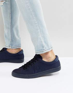 Fred Perry Underspin Ripstop Sneakers in Blue