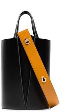 Lente Danse black lorna mini leather shoulder bag