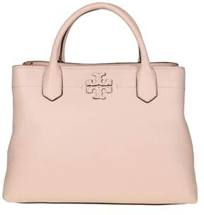 Tory Burch Mcgraw Bag In Cipria Color Leather - PINK QUARTZ - STYLE