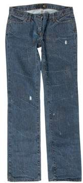 Just Cavalli Five-Pocket Straight-Leg Jeans w/ Tags