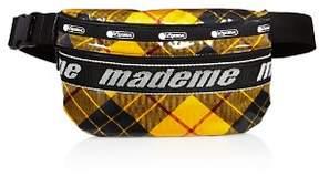Le Sport Sac x Made Me Plaid Belt Bag