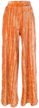Aviu pleated pants