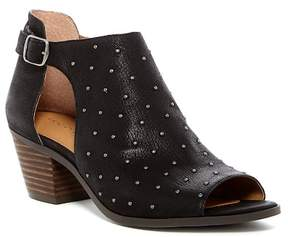 Lucky Brand Banks Open Toe Bootie