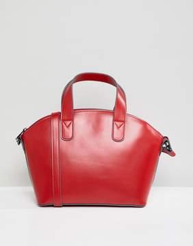 Asos DESIGN structured mini tote bag