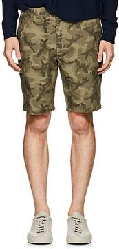 Barneys New York MEN'S CAMOUFLAGE COTTON TWILL SHORTS