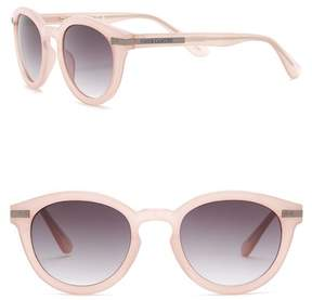Vince Camuto Round 49mm Acetate Frame Sunglasses