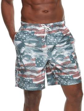 Croft & Barrow Men's American Palms Swim Trunks