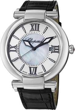 Chopard Imperiale Silver Tone Mother of Pearl Dial Men's Watch