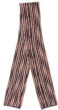 Missoni Metallic Striped Scarf