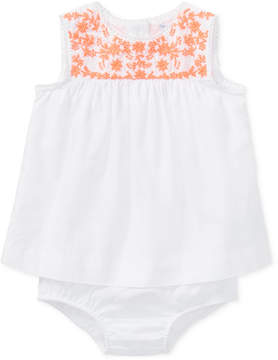 Polo Ralph Lauren Embroidered Top, Baby Girls