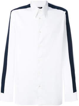 Calvin Klein striped sleeve shirt