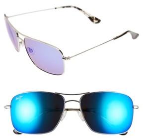Maui Jim Women's Wiki Wiki 59Mm Polarizedplus2 Aviator Sunglasses - Gold/ Bronze