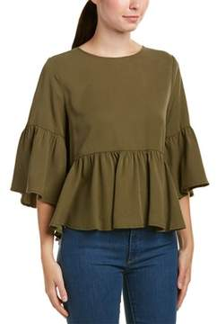 Central Park West Ruffle Top.