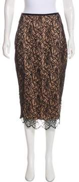 Camilla And Marc Lace Midi Skirt