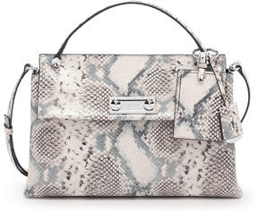 Henri Bendel Modern Icons Top Handle Snake Satchel